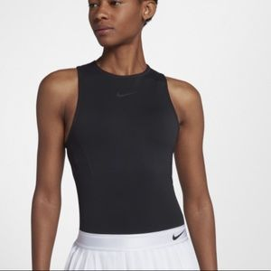 NikeCourt slam tennis top BLACK. Brand new WT!